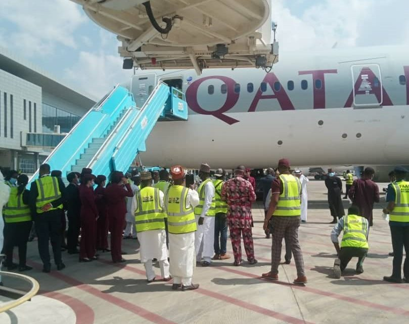 ANNOUNCING THE ARRIVAL OF QATAR AIRWAYS FOR THE FIRST TIME IN ABUJA… HANDLED BY NAHCO