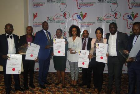 2018 AFRICAN CORPORATE LEADERSHIP EXCELLENCE PRICE AT THE SHERATON HOTELS & TOWERS, IKEJA