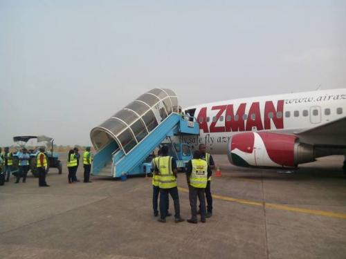 AZMAN INAUGURAL FLIGHT TO ENUGU