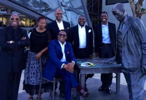 BOARD MEMBERS AFTER A RECENT SIGNING OF A MOU IN SOUTH AFRICA