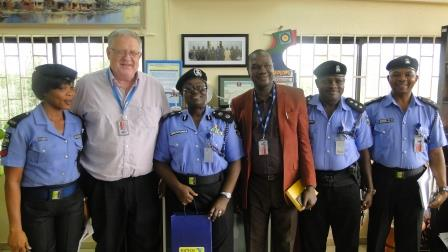 COURTESY VISIT BY THE AIRPORT POLICE COMMAND