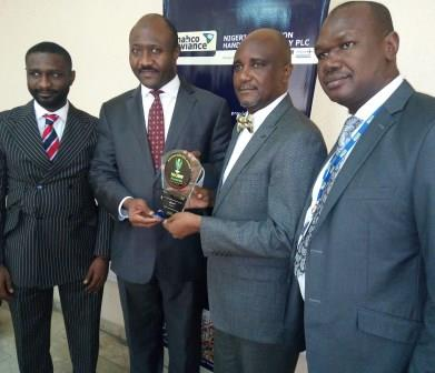 HANDING OVER OF THE AIRPORT GROUND HANDLING SPECIAL ACHIEVEMENT AWARD