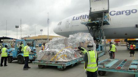 LUFTHANSA CARGO INAUGURAL FLIGHT IN LAGOS