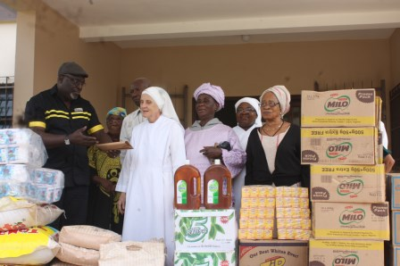 NAHCO DONATES TO CHARITY IN ENUGU