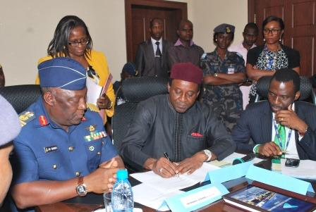 NAHCO PARTNERS THE NIGERIAN AIR FORCE
