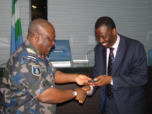 NAHCO VISITS THE CHIEF OF AIR STAFF